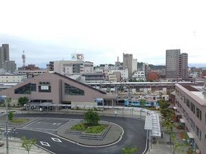 彦根のホテルからの眺望.jpg